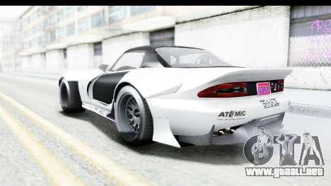 GTA 5 Bravado Banshee 900R Mip Map para vista inferior GTA San Andreas