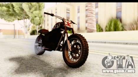 GTA 5 Western Cliffhanger Custom v1 para la visión correcta GTA San Andreas