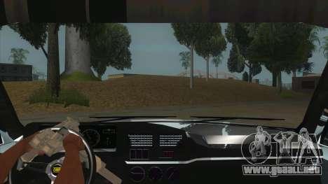 Peugeot 309 Rallye para visión interna GTA San Andreas