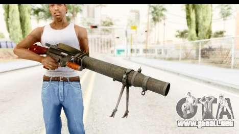 Lewis Machinegun para GTA San Andreas tercera pantalla