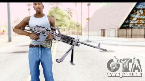 M240 FSK No Scope Bipod para GTA San Andreas tercera pantalla