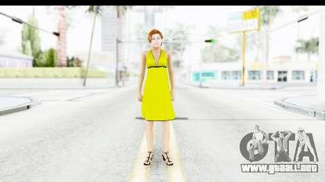 Margot Robbie para GTA San Andreas segunda pantalla