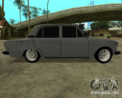 VAZ 2106 armenia para GTA San Andreas left