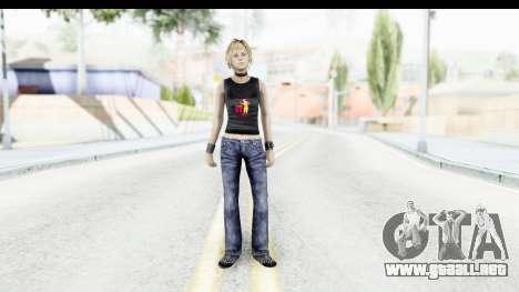 Silent Hill 3 - Heather Sporty Black Pennywise R para GTA San Andreas segunda pantalla