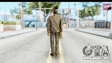 I Am Legend - Will Smith v2 Fixed para GTA San Andreas tercera pantalla