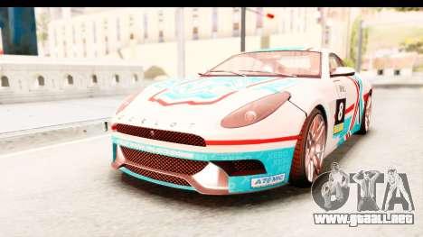 GTA 5 Ocelot Lynx para visión interna GTA San Andreas