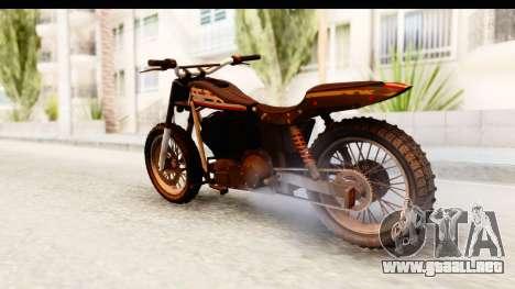 GTA 5 Western Cliffhanger Custom v1 para GTA San Andreas left
