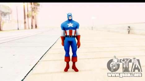Marvel Heroes - Captain America para GTA San Andreas segunda pantalla