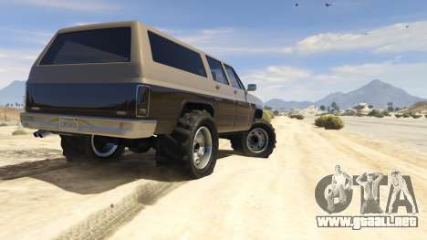 GTA 5 Off-roading Rancher quinta captura de pantalla