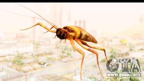 Flying Cockroach para GTA San Andreas vista posterior izquierda