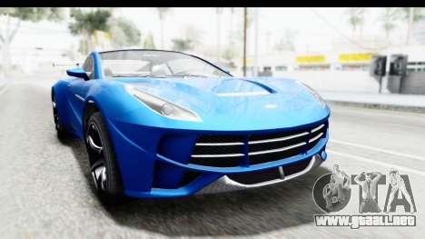 GTA 5 Dewbauchee Seven 70 para GTA San Andreas