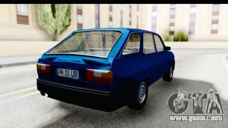 Dacia Liberta para la visión correcta GTA San Andreas
