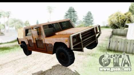 Rusted Patriot para GTA San Andreas