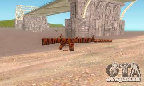 AA-12 para GTA San Andreas tercera pantalla