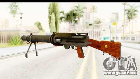 Lewis Machinegun para GTA San Andreas segunda pantalla