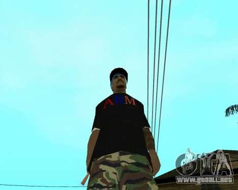 New Armenian Skin para GTA San Andreas novena de pantalla
