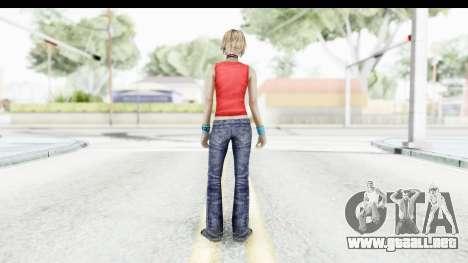 Silent Hill 3 - Heather Sporty Red Mickey Mask para GTA San Andreas tercera pantalla