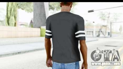 Adidas 03 T-Shirt para GTA San Andreas tercera pantalla