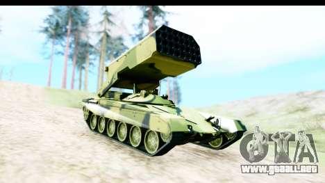TOS-1A para la visión correcta GTA San Andreas