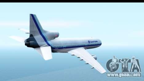 Lockheed L-1011-100 TriStar Eastern Airlines para la visión correcta GTA San Andreas