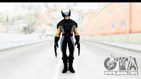 Marvel Heroes - Wolverine Xforce para GTA San Andreas segunda pantalla