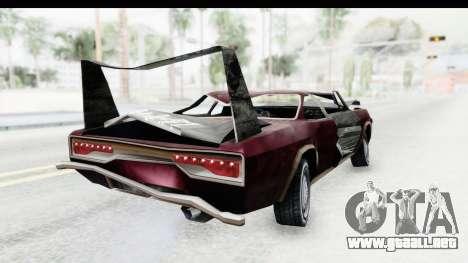 Tampa Daytona Kill para GTA San Andreas left