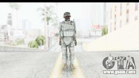 Global Warfare USA para GTA San Andreas segunda pantalla
