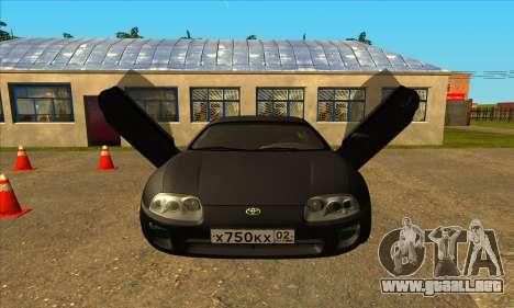 Toyota Supra Lambo para la visión correcta GTA San Andreas