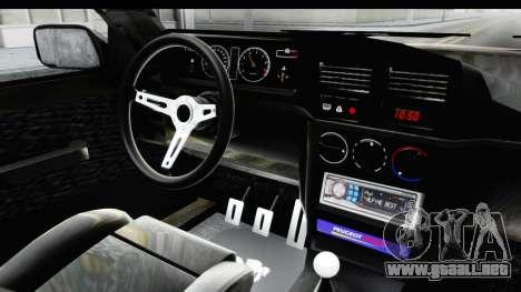 Peugeot 309 GTi para visión interna GTA San Andreas