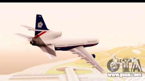 Lockheed L-1011-100 TriStar British Airways para la visión correcta GTA San Andreas