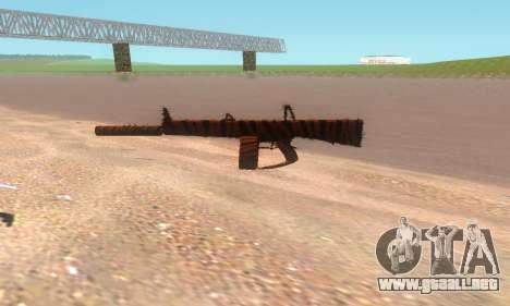 AA-12 para GTA San Andreas sucesivamente de pantalla