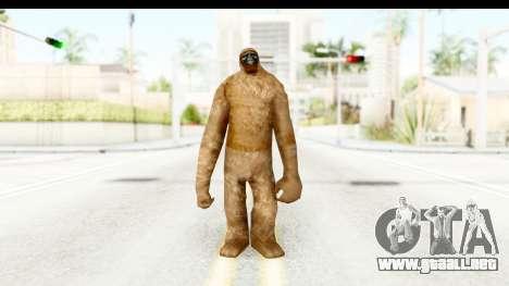 Pie Grande v1 para GTA San Andreas segunda pantalla