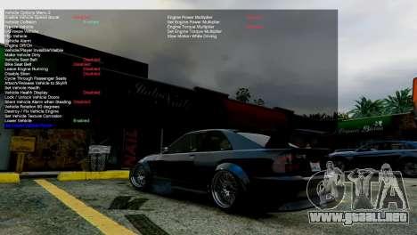GTA 5 Simple Trainer v4.0 tercera captura de pantalla
