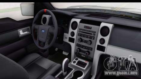 Ford F-150 Stock para visión interna GTA San Andreas