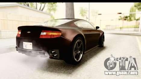 GTA 5 Dewbauchee Rapid GT SA Style para GTA San Andreas left