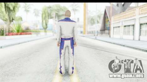 GTA 5 DLC Cunning Stuns Male Skin para GTA San Andreas tercera pantalla