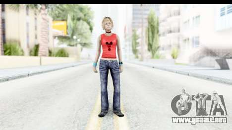 Silent Hill 3 - Heather Sporty Red Mickey Mask para GTA San Andreas segunda pantalla