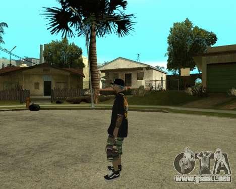 New Armenian Skin para GTA San Andreas décimo de pantalla