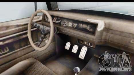 GTA 5 BF Injector para visión interna GTA San Andreas