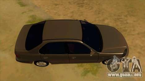 Honda Civic Sedan Stock para visión interna GTA San Andreas