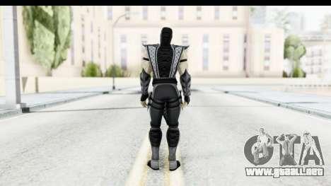 Mortal Kombat vs DC Universe - Smoke para GTA San Andreas tercera pantalla