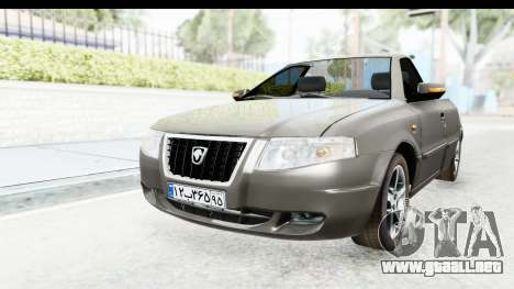 Ikco Samand Pickup v1 para GTA San Andreas