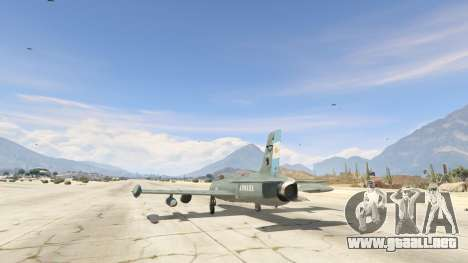 GTA 5 AT-26 Impala Xavante ARG cuarto captura de pantalla