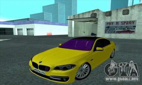 BMW 525 Gold para GTA San Andreas