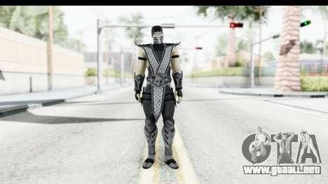 Mortal Kombat vs DC Universe - Smoke para GTA San Andreas segunda pantalla