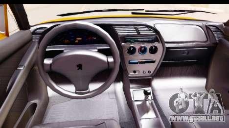 Peugeot 306 GTI para visión interna GTA San Andreas