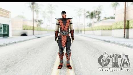 Mortal Kombat vs DC Universe - Ermac para GTA San Andreas segunda pantalla