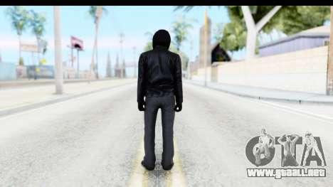 GTA 5 Heists DLC Male Skin 2 para GTA San Andreas tercera pantalla