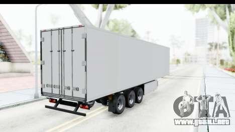 Trailer ETS2 v2 Old Skin 3 para GTA San Andreas vista posterior izquierda