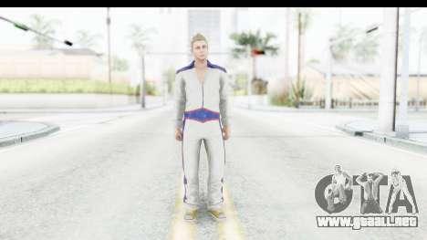 GTA 5 DLC Cunning Stuns Male Skin para GTA San Andreas segunda pantalla